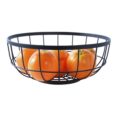 Obstkorb Open Grid   Schwarz