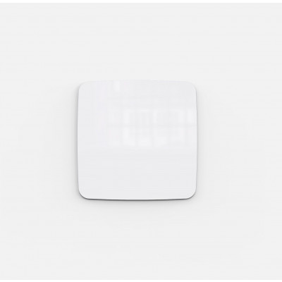 Flow Wall Glass Board | White