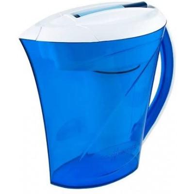 10-Tassen-Wasserfilter Kanne  2,4 L | Blau
