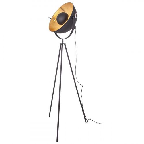 Staande Lamp Mini Captain | Zwart & Goud