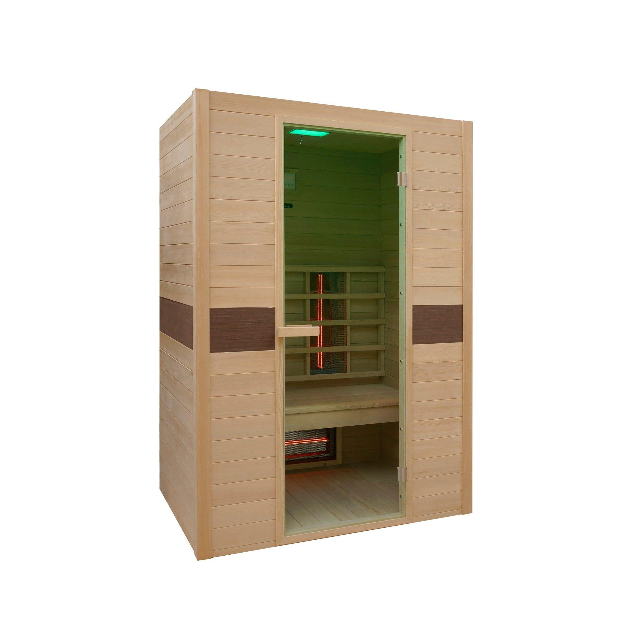 Infrarot-Sauna Rubin   2 Personen