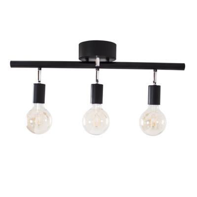 Deckenlampe Row   Schwarz