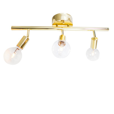 Ceiling Lamp Row   Messing