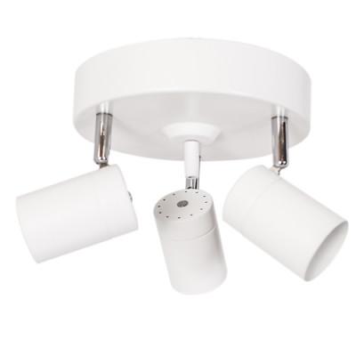 Deckenlampe Correct 3 Lichter   Weiß