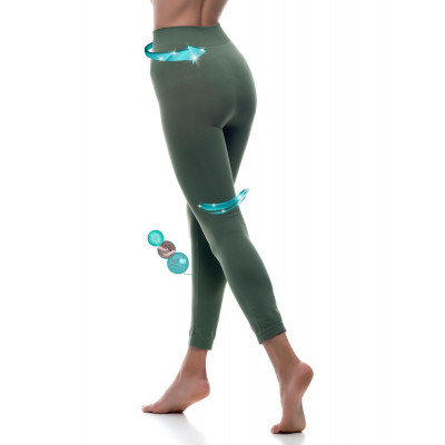 Sport Legging Emana Noah | Armeegrün