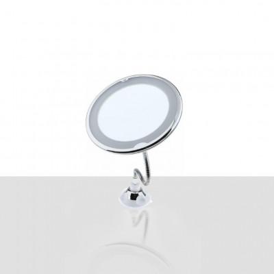 Flexible Wandspiegel mit LED-Licht Flex | Weiß