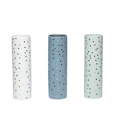 Vasenpunkte 3er-Set | Grün / Weiß / Blau