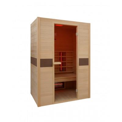 Infrarot-Sauna Rubin | 2 Personen