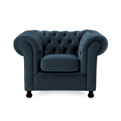 Chesterfield 1 Seater | Marine Blue