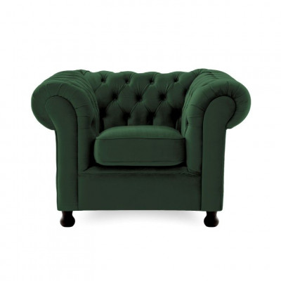 Chesterfield 1 Seater | Emerald Green