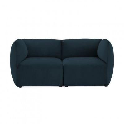 Cube 2-Sitzer-Sofa | Navy