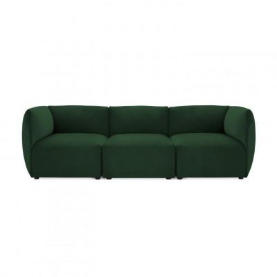 Cube 3-Sitzer-Sofa | Smaragdgrün