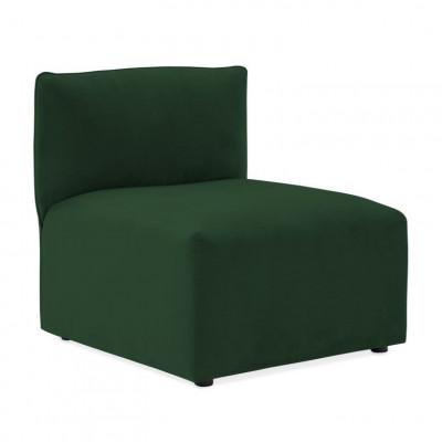 Cube Sofa Extension | Emerald Green