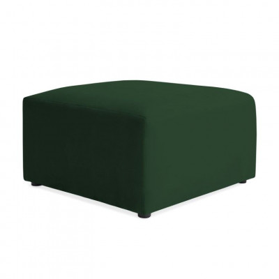 Würfel-Fußschemel | Smaragdgrün