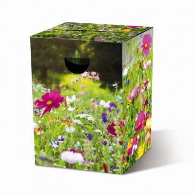 Cardboard Stool | Flower Meadow