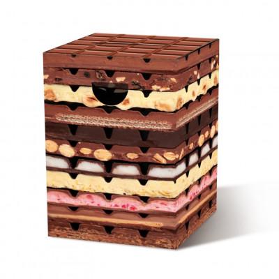 Cardboard Stool | Chocolate
