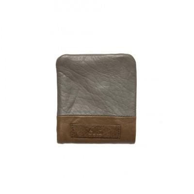 Farun Men's Wallet | Grey & Tan