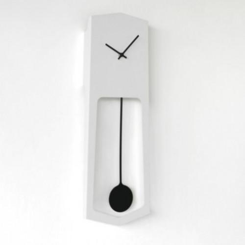 Wall Clock Aika   White