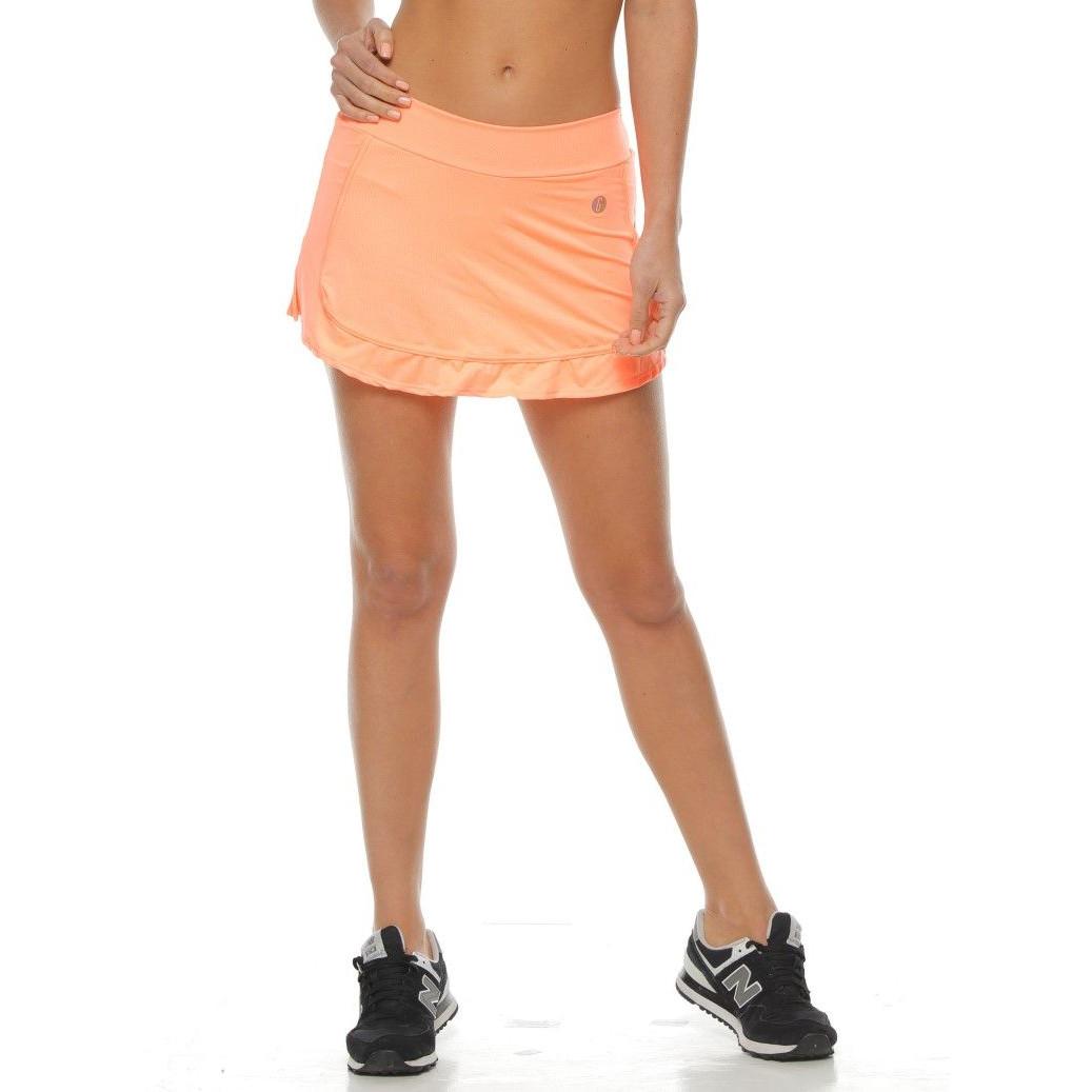 Short Skirt | Neon Tangerine