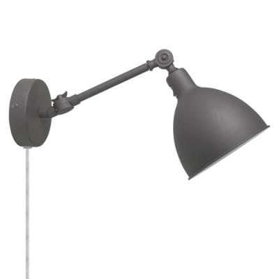 Wandlampe Bazar Mini   Grau