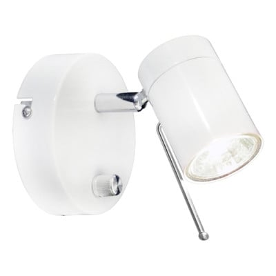 Wandlampe Correct   Weiß