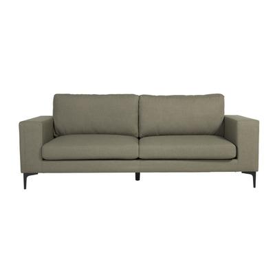 3 Seater Sofa Bolero Velvet | Dusty Green & Black Legs