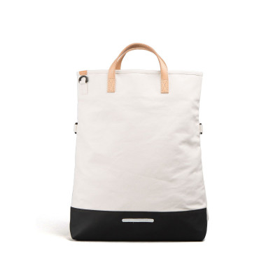 R Tote 510 Rugged Canvas | White