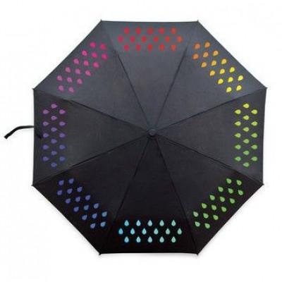 Regenschirm Farbwechsel | Schwarz