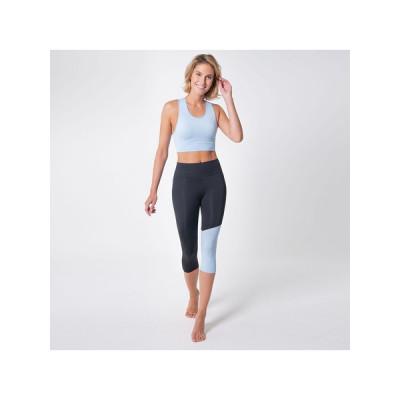 Legging und Sport BH Set 7051 7052 | Schwarz Aqua