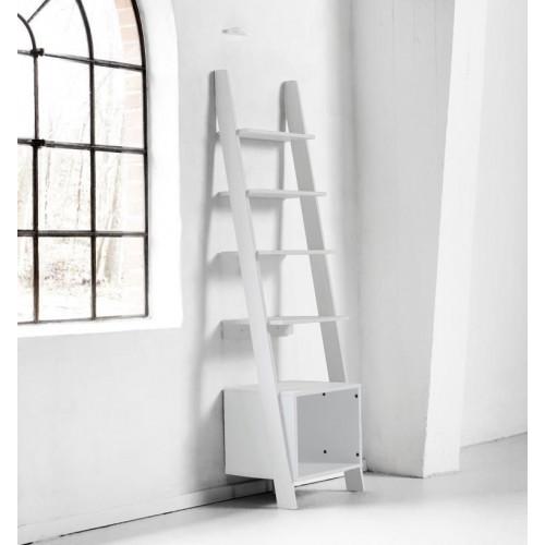 Vocal Bookshelf | White