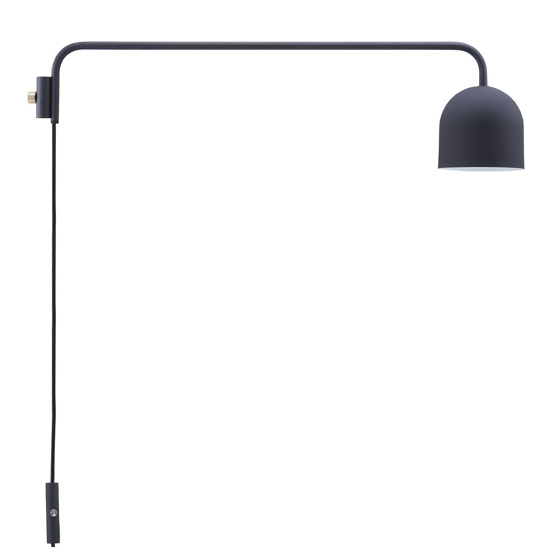 Set of Tension Rod C (Vertical) + Lamp | Black