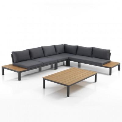 Lounge-Set Innen / Außen Nydri | Grau