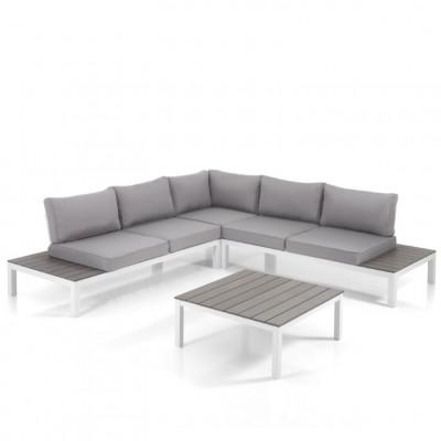 Lounge-Set Innen / Außen Nydri | Weiß