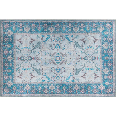 Carpet Dorian Chenille 140x190 cm I Blue AL 333