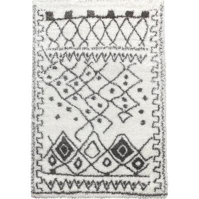 Carpet Payidar Lux Shaggy 3890A I White-Grey 200x290 cm