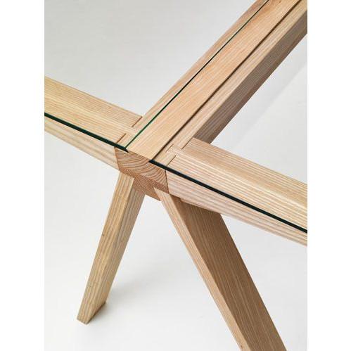 Traverso-Tisch - Klarglas