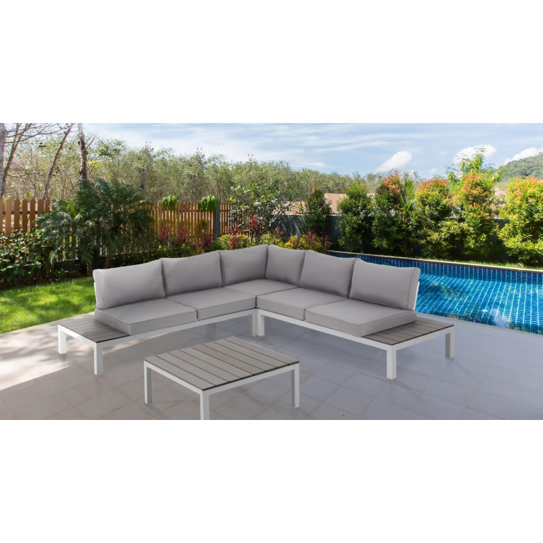 Lounge Set Indoor / Outdoor Nydri | White