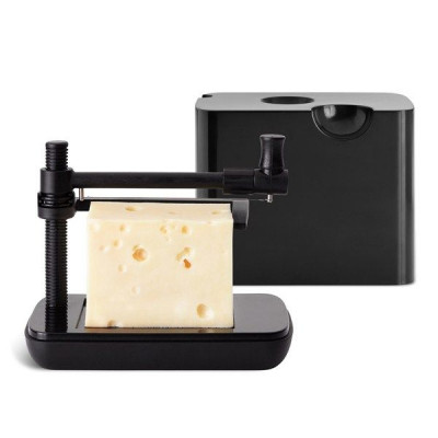 Cheese Box with Slicer | Black