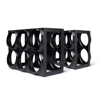 Wine Rack  Set of 2 | Black