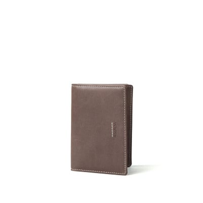 R Wallet 140 Wax Leather | Brown