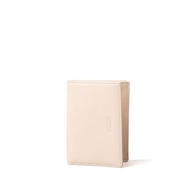 R Wallet 140 Wax Leather | Natural
