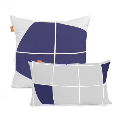 Set of 2 Cushion Covers Structure | 50x50cm + 50x30cm