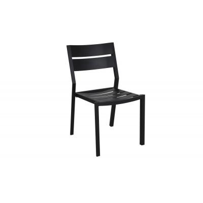 Outdoor Dining Chair Delia | Black