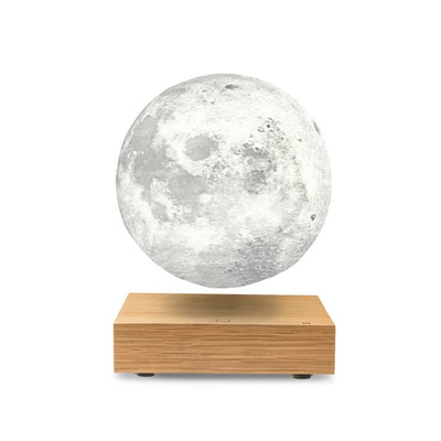 Smart Moon Lampe   White Ash