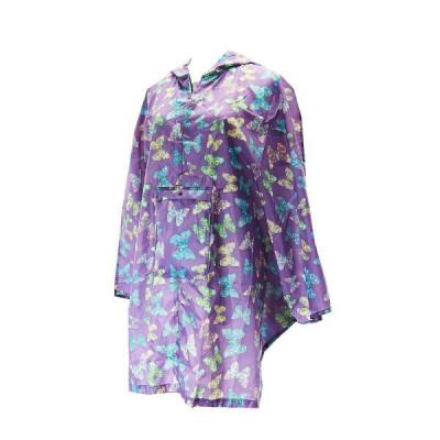 Poncho Butterflies | Purple