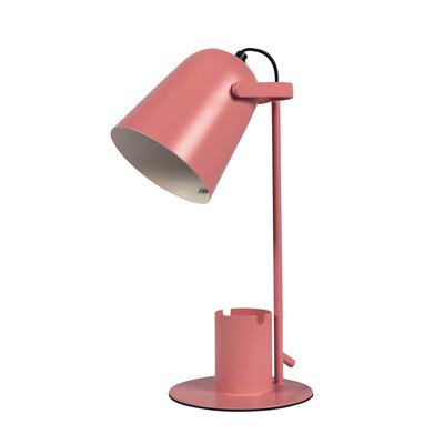 Tischlampe mit Stift- und Handyhalter   Rosa