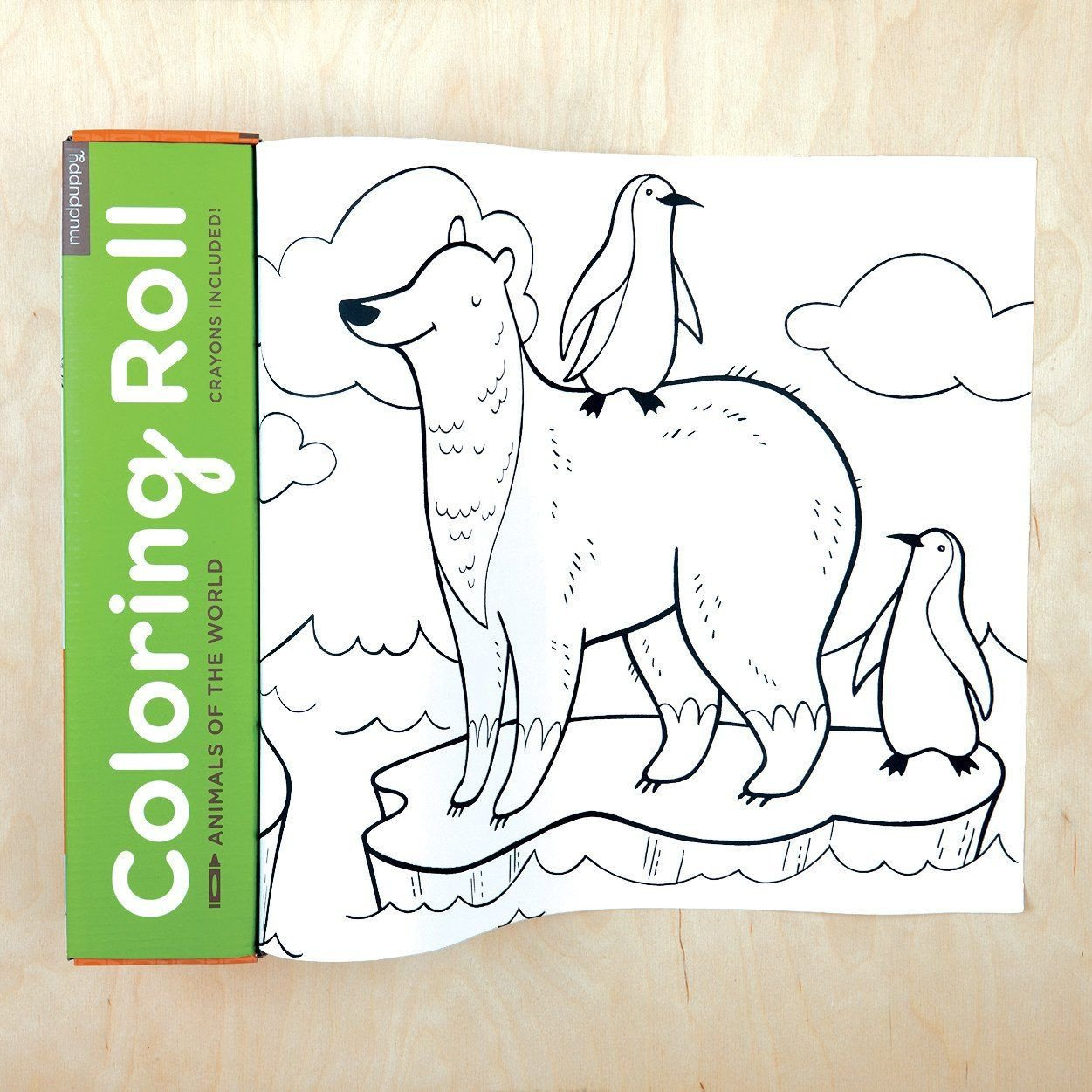 Colouring Roll   Animals