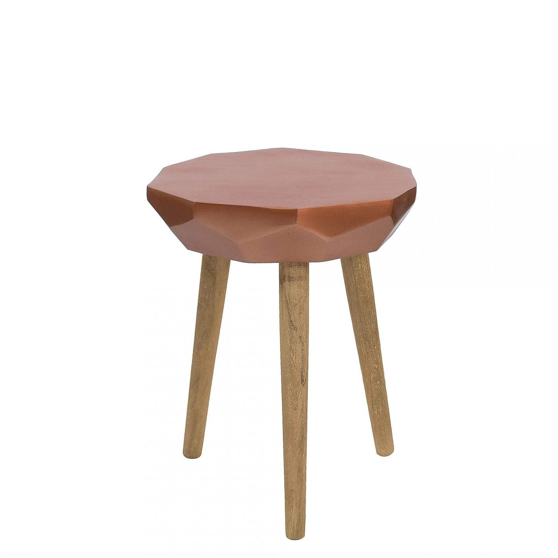 Side Table Diamond | Copper