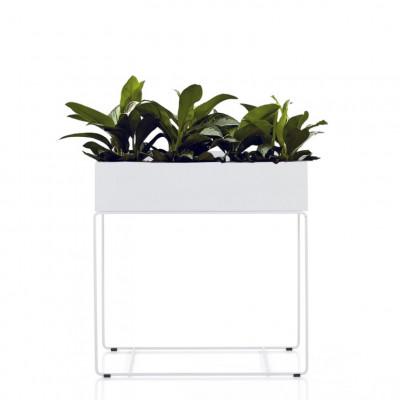Pflanzenhalter Innen / Außen Agnes Tall | Weiß