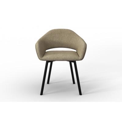 Stuhl Oldenburg | Beige-Leinen Touch